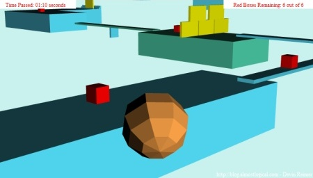 3D Ball Adventure Version 3 Screenshot