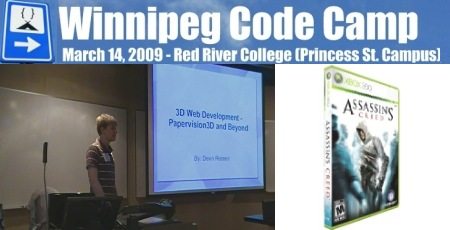Papervision3D Lecture Winnipeg Code Camp